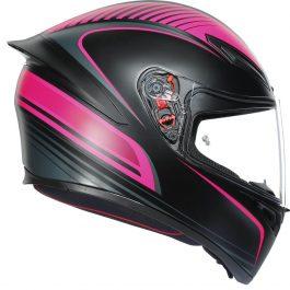 K1 Warmup črna/roza – Agv