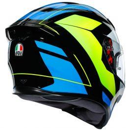 K5 S Core črna/rumena/modra – Agv