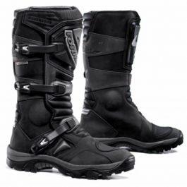 Moto škornji Adventure črni – Forma