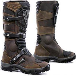 Moto škornji Adventure rjavi – Forma