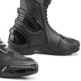 Moto škornji Freccia črni – Forma