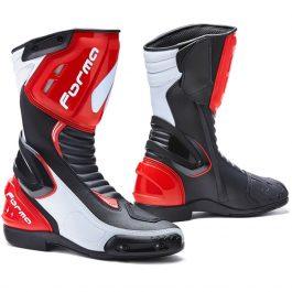 Moto škornji Freccia rdeči – Forma