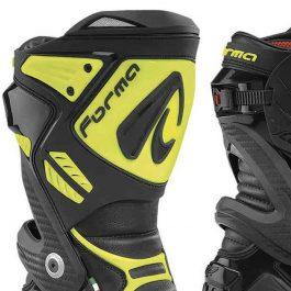 Moto škornji Ice Pro črni/fluo rumeni – Forma