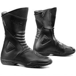Moto škornji Majestic črni – Forma