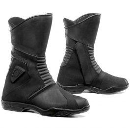 Moto škornji Voyage črni – Forma