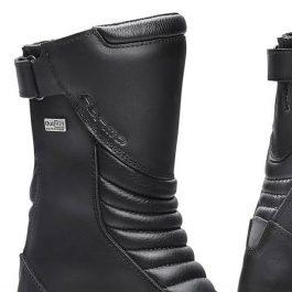 Moto škornji Rose Lady črni – Forma