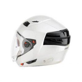 Crossover čelada Executive white gloss – Airoh