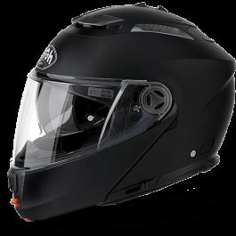 Preklopna čelada Phantom mat črna – Airoh