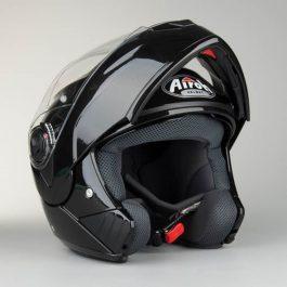 Preklopna čelada Phantom metalic črna – Airoh
