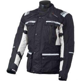 Moto jakna Challenger črno/bela moška Grand Canyon
