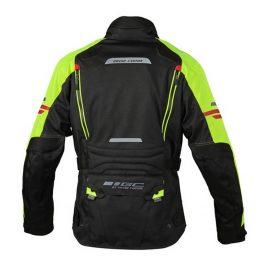 Moto jakna Ventura črna/fluo moška Grand Canyon
