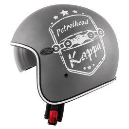 Jet čelada KV29 Philadelphia siva – Kappa