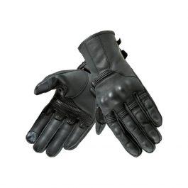 Moto rokavice Opium II črne – Rebelhorn