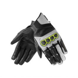 Moto rokavice Patrol Short sivo/črne   Rebelhorn