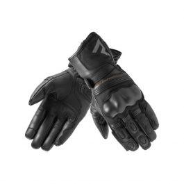 Moto ženske rokavice Patrol črne – Rebelhorn