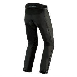 Moto hlače Hiker II črne – Rebelhorn