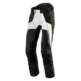 Moto hlače Patrol sivo/črne – Rebelhorn