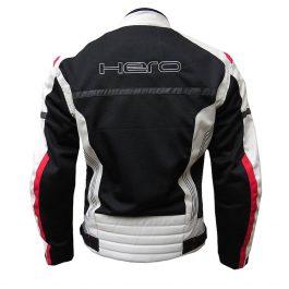 Moto jakna hr-874  črno/rdeča moška – Hero
