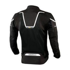 Moto jakna Hiflow III črna – Rebelhorn