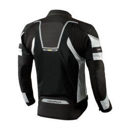 Moto jakna Hiflow III sivo/črna – Rebelhorn