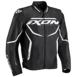 Moto jakna Sprinter črno/bela – Ixon