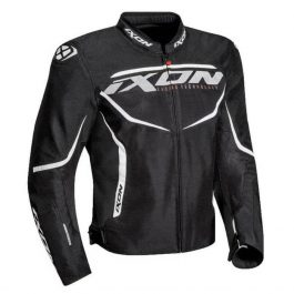 Moto jakna Sprinter Air črno/bela – Ixon
