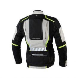 Moto jakna Hiker II sivo/črna   Rebelhorn