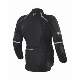 Moto jakna Patrol črna – Rebelhorn