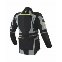 Moto jakna Patrol sivo/črna   Rebelhorn