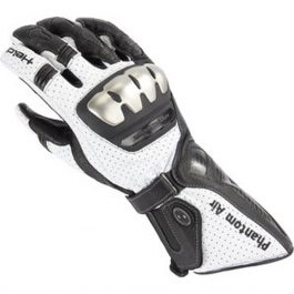 Moto rokavice Phantom Air črno/bele moške Held