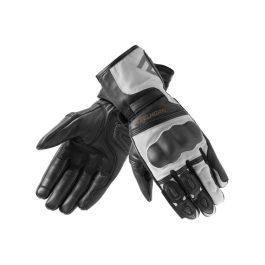 Moto rokavice Patrol sivo/črne – Rebelhorn