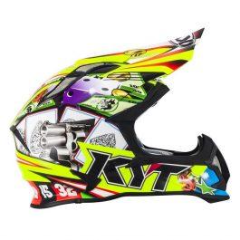 Motocross čelada Strike Eagle Roulette – Kyt