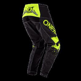 Motocross hlače Element Impact črna-neon rumena – O'neal