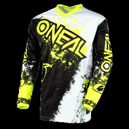 Motocross majica Element Jersey Impact črna-neon – O'neal