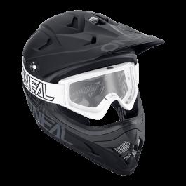 Motocross očala B-Zero 18 bela – O'neal