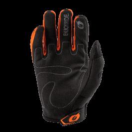 Motocross rokavice Elemental čr-oranžne – O'neal