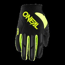 Motocross rokavice Elemental čr-rumene – O'neal