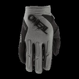 Motocross rokavice Elemental sive – O'neal