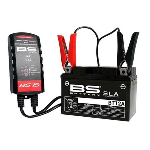 Polnilec za akumulator BS 15 SMART CHARGER 12V 1500mA 1