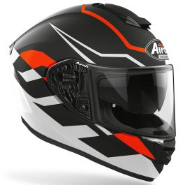 Moto čelada ST501 Frost Orange matt – Airoh