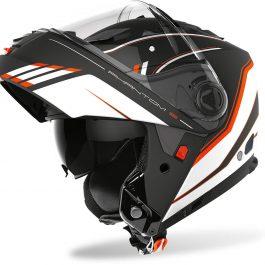 Preklopna čelada Phantom S Beat Orange matt – Airoh