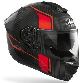 Moto čelada ST501 Alpha Red Matt – Airoh