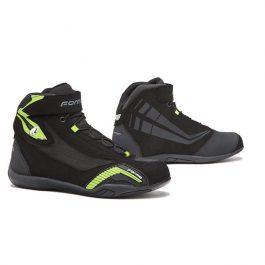 Moto čevlji Genesis črni/fluo rumeni – Forma
