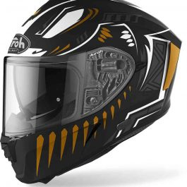 Moto čelada Spark Black Matt Vibe – Airoh