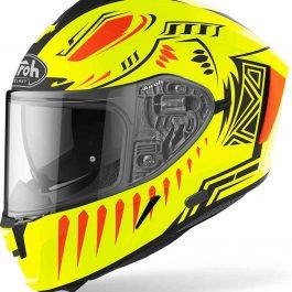 Moto čelada Spark Yellow Fluo Matt Vibe – Airoh