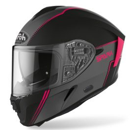 Moto čelada Spark Pink Matt Flow – Airoh