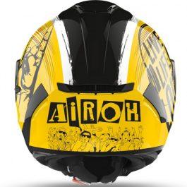 Moto čelada Spark Gloss Rock'n'Roll – Airoh