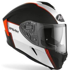 Moto čelada Spark Orange Matt Flow – Airoh