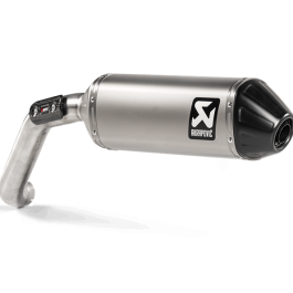 Izpušni lonec Moto Guzzi V85TT 2020, Slip-on Line – Akrapovič