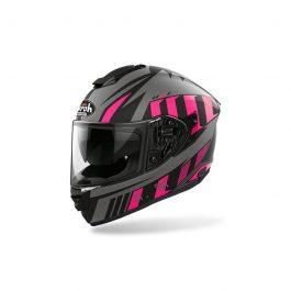 Moto čelada ST501 Pink Matt Blade – Airoh